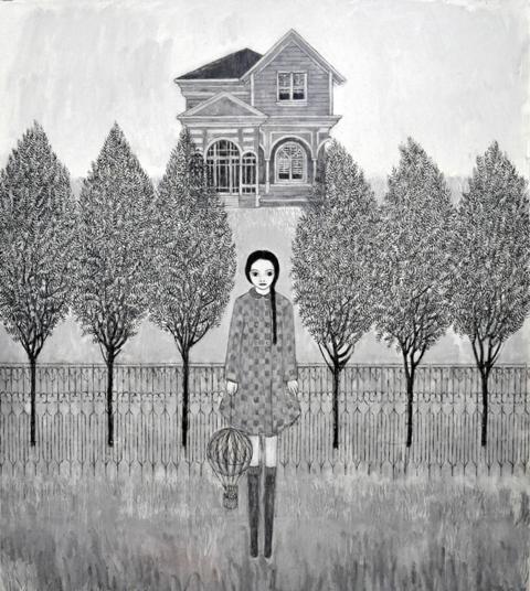 Marco Demis, Senza titolo, olio su tela, 90x100 cm.,  2011