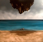 Giuliano Sale 2013 olio su tela 100x100 cm -Can't Lose You-
