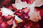 Dilatazione (disturbo), acrilico ed olio su tela, cm 60x90, 2013