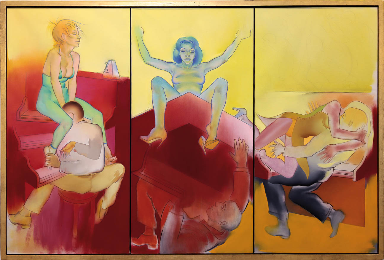 Allen-Jones-Three-Part-Invention-2002-Court-Lorenzelli-Arte-1