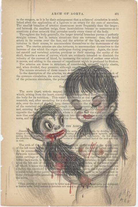 G.Baseman-2012-Arch-of-Aorta-Page-page-471-pastelli-su-carta-25-x-17-cm-480x718