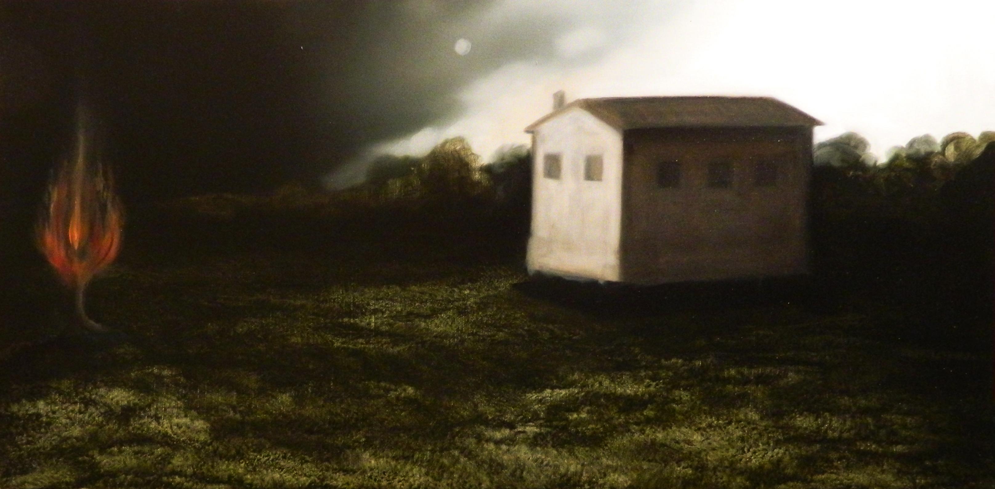 Giuliano Sale 40x80 olio su tela 2012