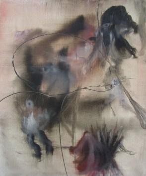 '' gran ballo'', olio su tela, 50 x 60 cm, 2012
