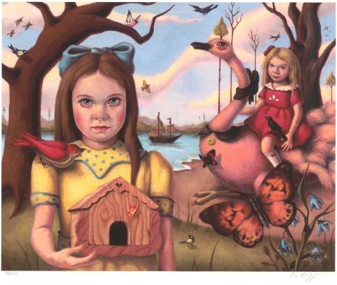 Ana Bagayan, Butterfly House, stampa giclée, 28x36 cm.