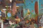 vago ventre vuoto, 2013, olio su tavola, 40x60 cm