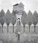 Marco Demis, Senza titolo, 2011, olio su tela, cm 90x100