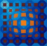 1974-NIL-C, acrylique sur panel, cm 38x38