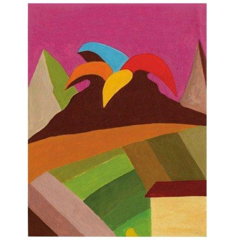 Enzo Forese, Senza titolo, olio su carta intelata, 2010.
