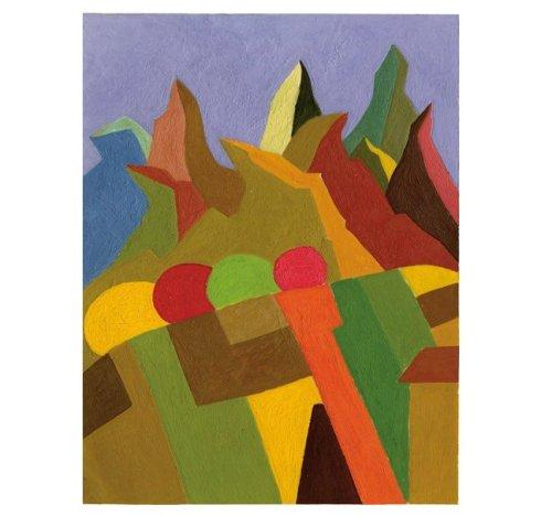 Enzo Forese, Senza titolo, olio su carta intelata, 2010