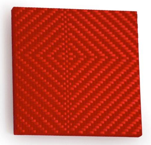 Mimmo Iacopino, Senza titolo, strisce di velluto e raso su tela, 2011.