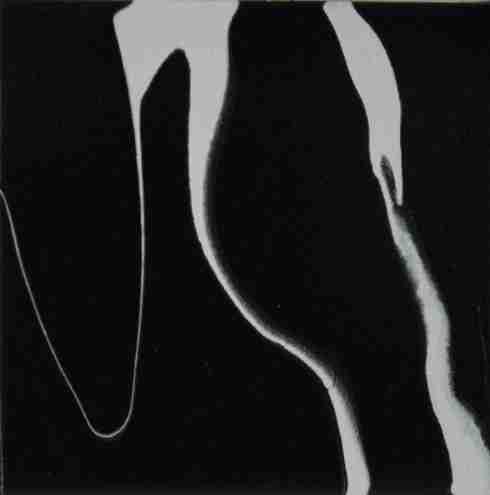 38 - Graffio N#15 - 2012 - Olio su tela cm. 15 x 15