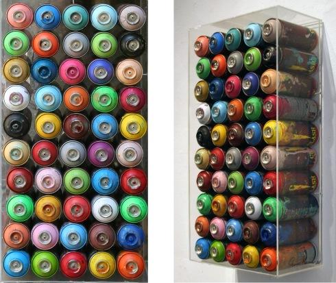 Omar Hassan, Rimembranze,  contenitori di aria colorata,