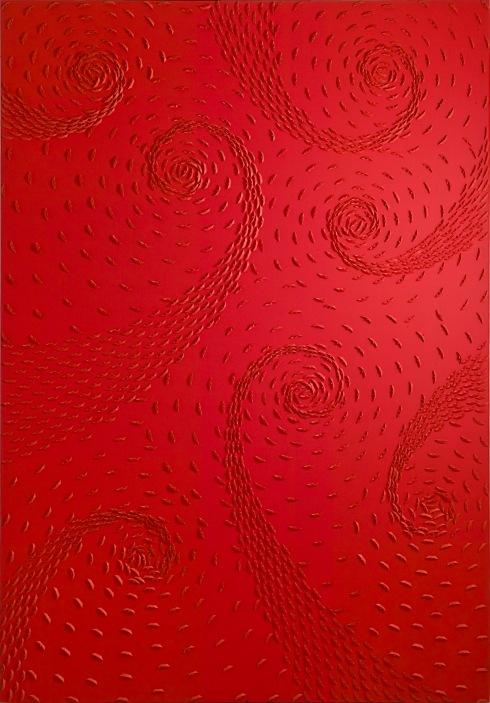 4-Riccardo Gusmaroli, Vortice rosso, 200x140,