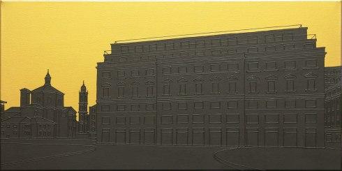 Massimo-Dalla-Pola,-12.12.1969-(Piazza-Fontana),-2013,-acrilico-su-tela,-40x80cm