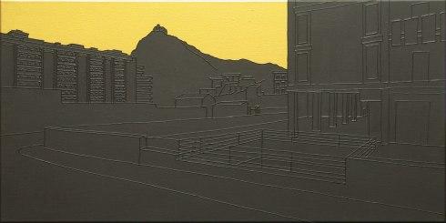 Massimo-Dalla-Pola,-19.07.1992-(Via-d'Amelio),-2013,-acrilico-su-tela,-40x80cm
