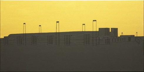 Massimo-Dalla-Pola,-27.12.1985-(Fiumicino),-2013,-acrilico-su-tela,-40x80cm