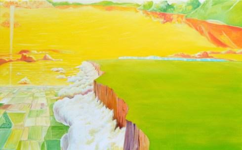 Carlo Cofano, Madre, olio su tela, 50x80 cm., 2014