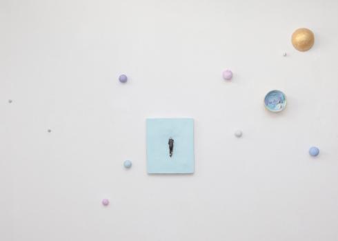 Pino Deodato, Fermare il tempo. Silente. Si aprono le porte del paradiso, 2014, installazione, 3 x 2 mt, Ph Tommaso Riva.
