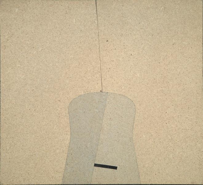 AC murale 143, acrilico su pavatex, 35x38 cm., 1972