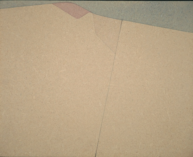 AC murale 45, acrilico su pavatex,35x42 cm., 1973