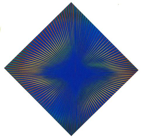 Dinamica, politipo, 114x114  cm., 1966