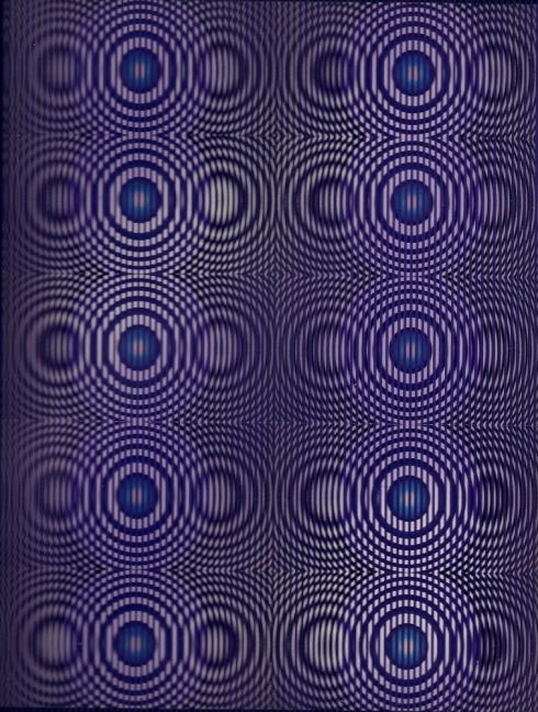 Gocce , PVC su tavola, cm 180x140, 2002