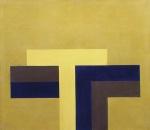 Acrilico 2, 1970, cm 35x40, acrilico su tela