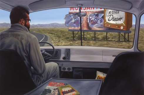 Eric White, No other dream, 2014, olio su tela