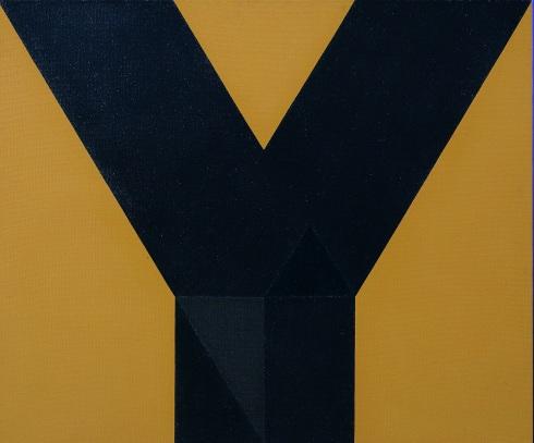 Q 516, 1972, cm 90x108, olio su tela