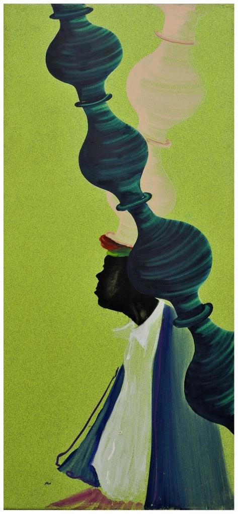 la danse danses de jarres olio su linoleum 190x90 1998