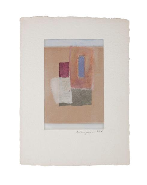 Domenica Regazzoni, Monoprint e Collage n. 12, 2010, 28x22 cm.