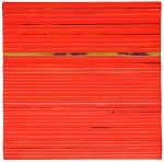 ORANGE_2015_acrilico su nastro carta su tela 70x70 bassa