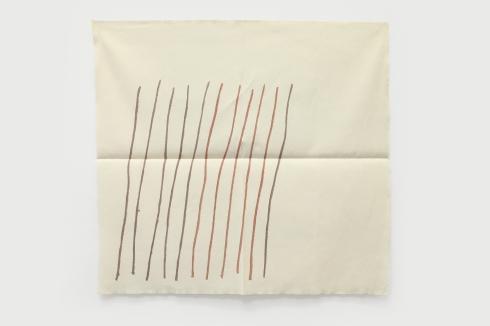 Giorgio Grifa, Obliquo, 1978, acrilico su cotone, cm 90x97
