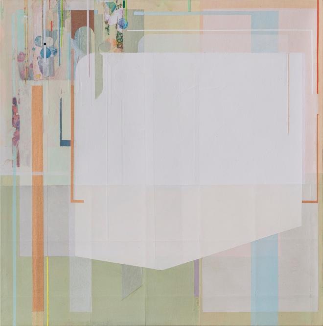 Comes as, 2014, tecnica mista su tela, 30x30cm