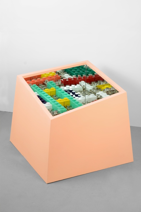 2014_%22kamigami box :rose%22cm 96x96x86-ferrocromato , legno e specchio, esemplare unico(c)