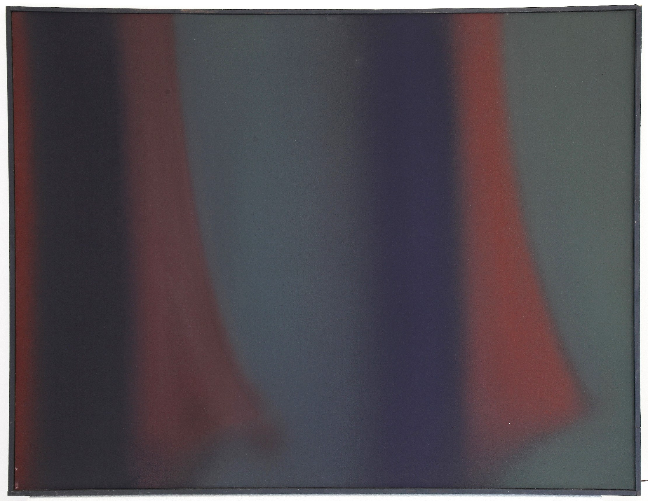 Claudio Olivieri senza titolo olio su tela 100x130 1978
