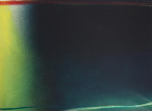 Claudio Olivieri senza titolo Olio su tela 80x110 1970