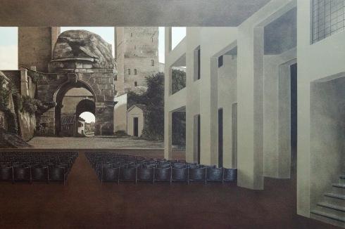 Arduino Cantàfora, Teatri di città I, 2014