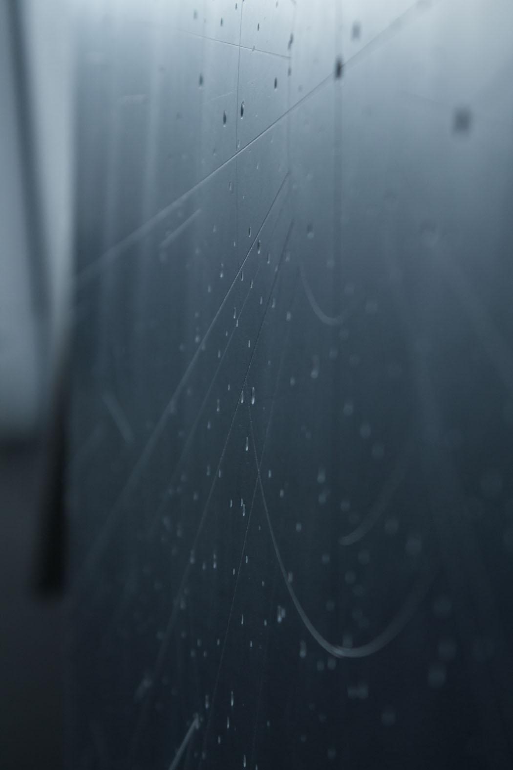Dario Goldaniga, Mappa Stellare, particolare 1, incisioni su lavagna, 90x120 cm, 2016