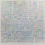 Viviana Valla, 2016, Ride to me #3, 180x180cm, mixed media on canvas