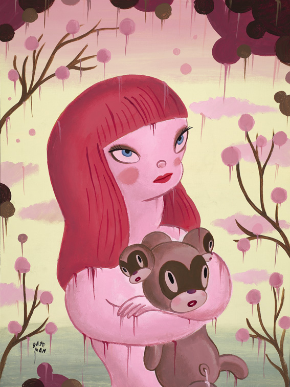 4-a-blossoming-of-the-chou-2011-acrilico-su-tela-46-x-61-cm