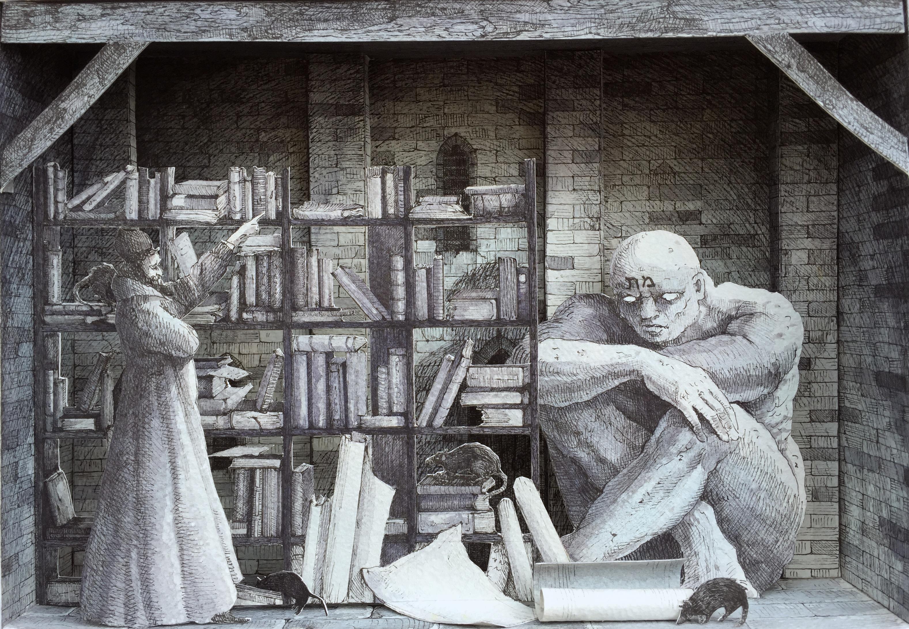 monolocale-55-genizah-2016-cm-21x30-china-e-acquerelli-su-carta-copia