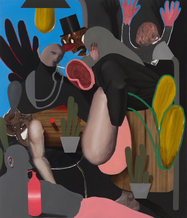 giuliano-sale-the-wrong-deposition-2017-oil-on-canvas-140x120-cm