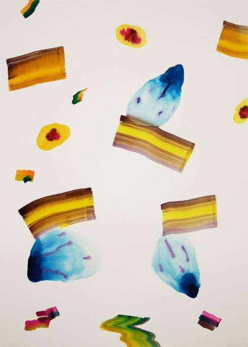 Mare dentro, acquerello su carta 50x70 cm 2017