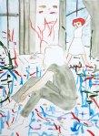 Rosa Loy, Erkannt_2012_Aquarell auf Papier_31x23cm