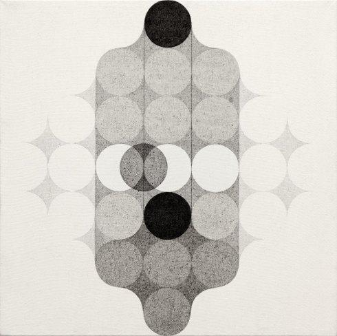 1970, Mutazioni, acrilico su tela copia