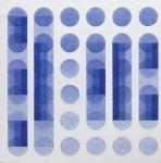 1973,Studio, acrilico su tela