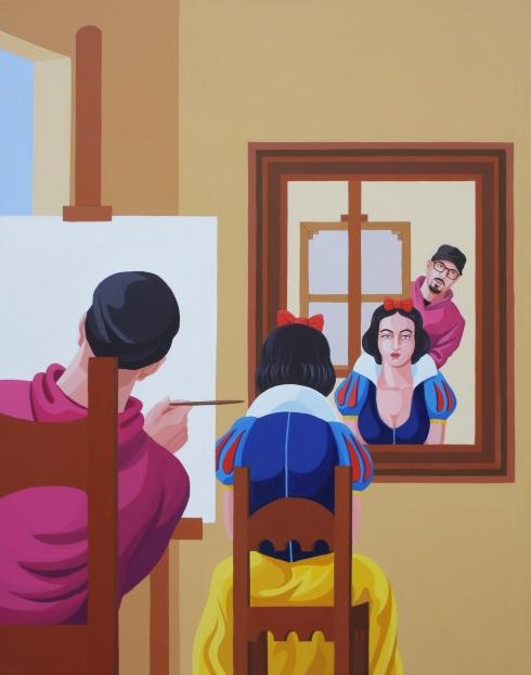 the painter prince_2018_acrilico su tela_cm 140x110