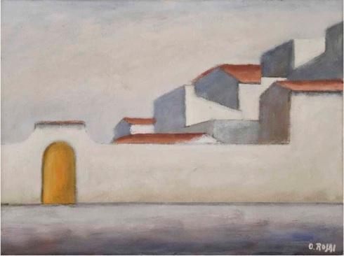 Ottone Rosai, Piazza del Carmine, 1953.jpg