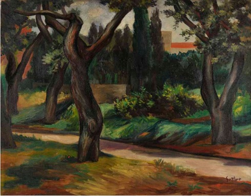 Renato Guttuso, Parco Villa Massimo, 1951.jpg